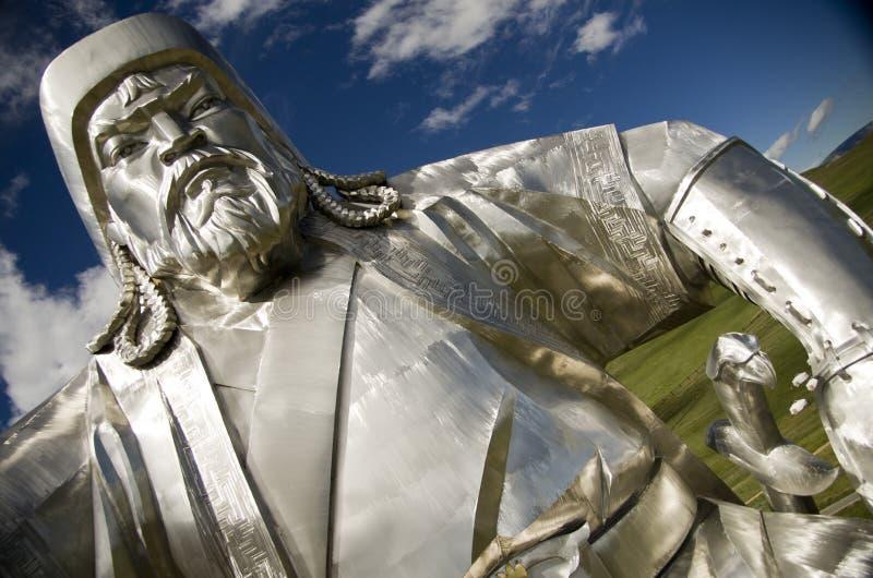 Gengis Khan royalty free stock photo