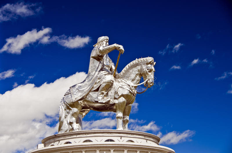 Gengis Khan fotografia de stock