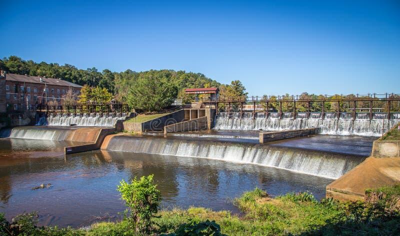 Genièvre et barrage de coton historiques de Pratt photos libres de droits