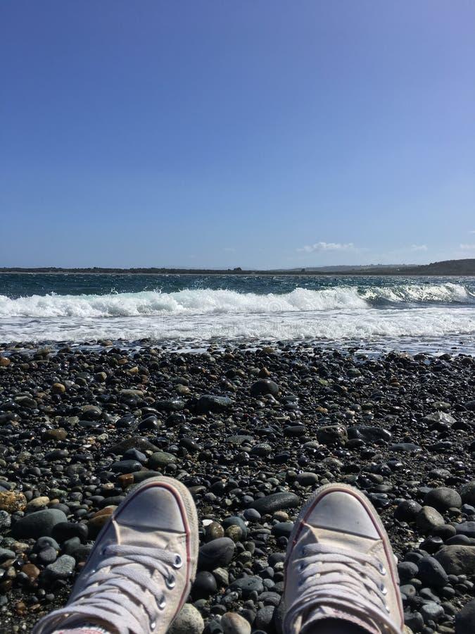 Genießen Sie den Ozean stockfoto