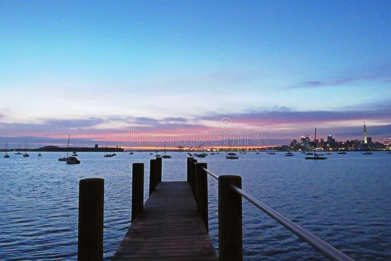 Genießen Sie Tagesanbruch Kiwi Way lizenzfreie stockbilder