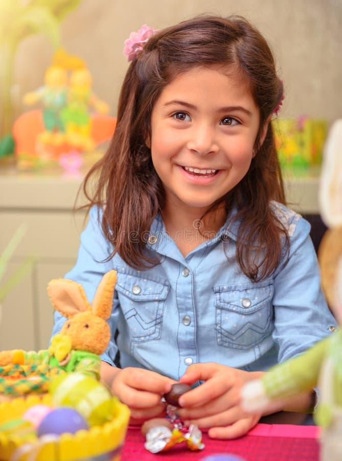 Genießen von Ostern-Feiertag stockfoto