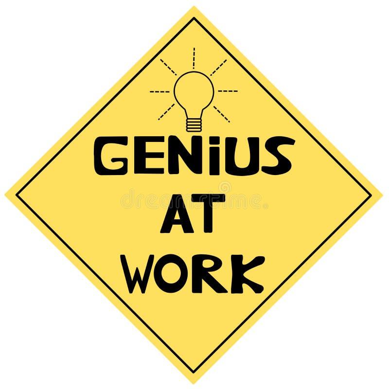 Genie bei der Arbeit