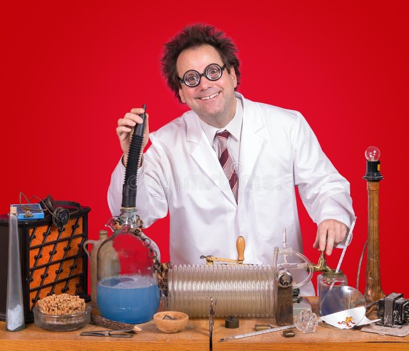 Genie im Labor lizenzfreie stockfotos