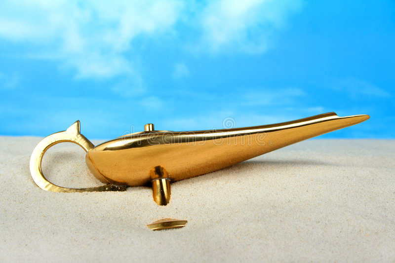 Download Genie Lamp Business & Finance Concept Stock Photo - Image: 6816908