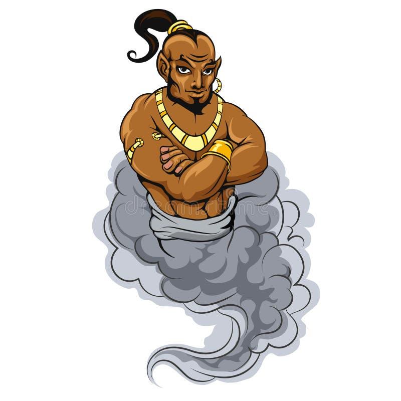 Genie vector icon royalty free illustration