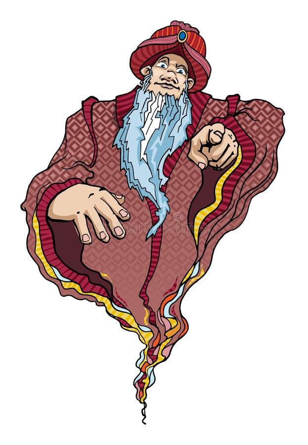 genies royalty ilustracja