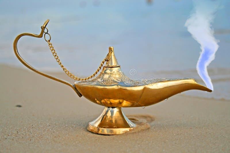 Genies Lamp Royalty Free Stock Photo