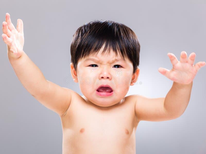 Genio del bebé foto de archivo libre de regalías