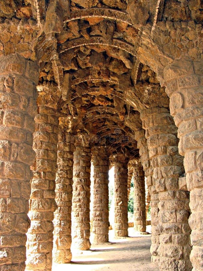 Genio di Gaudi fotografia stock libera da diritti