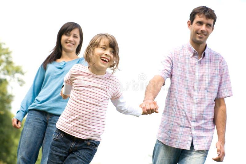 genitori della figlia immagine stock libera da diritti