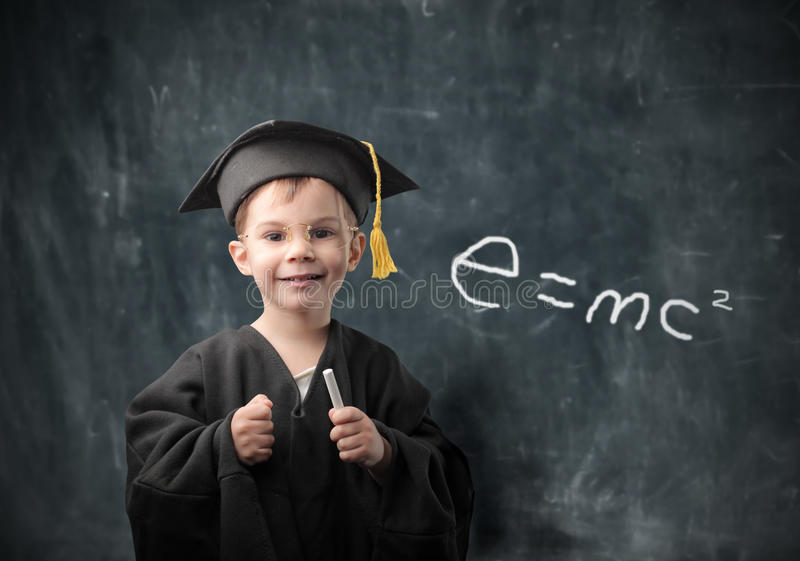 Download Genius stock image. Image of work, idea, young, child - 13872197