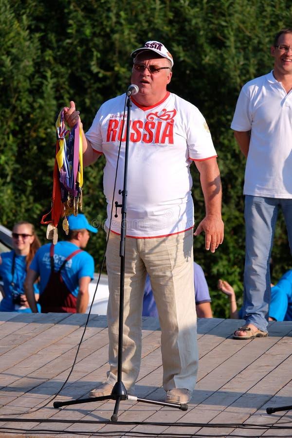Gennady Yakovlevich Shipulin, festivalfirmament belogoriya-2015 royalty-vrije stock afbeelding