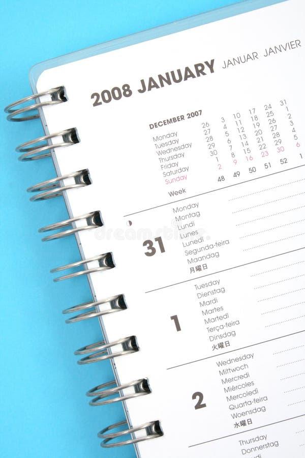 Gennaio 2008 fotografia stock libera da diritti