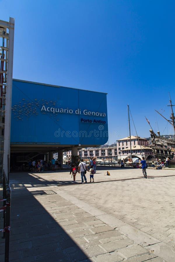 Genoa Aquarium fotografia stock libera da diritti