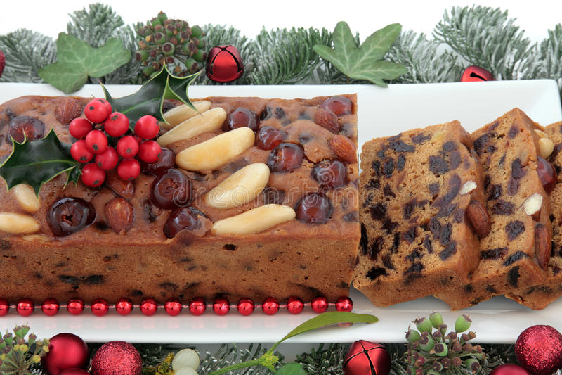 Genoa Cake fotografia de stock royalty free