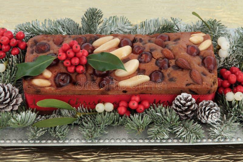 Genoa Cake fotografia de stock