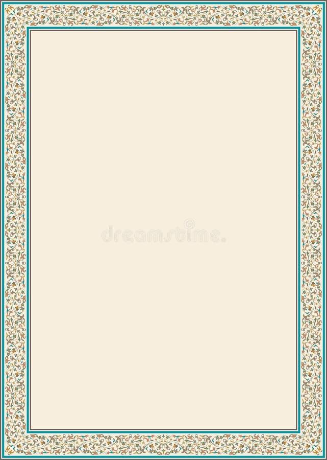 Genoa Classic Frame illustration stock