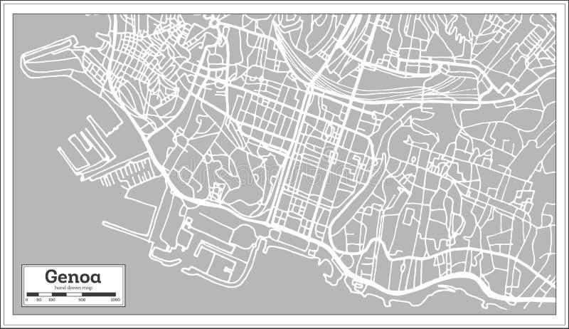 Genoa italy city map in retro style stock vector illustration of download genoa italy city map in retro style stock vector illustration of italy altavistaventures Image collections