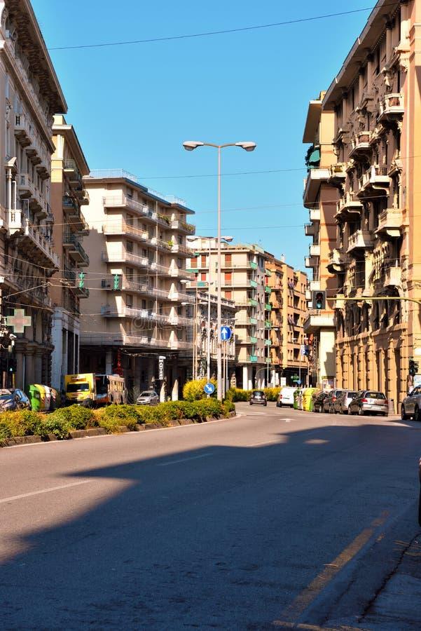 Genoa Italy Delegation av San arena för pir D ' royaltyfri bild