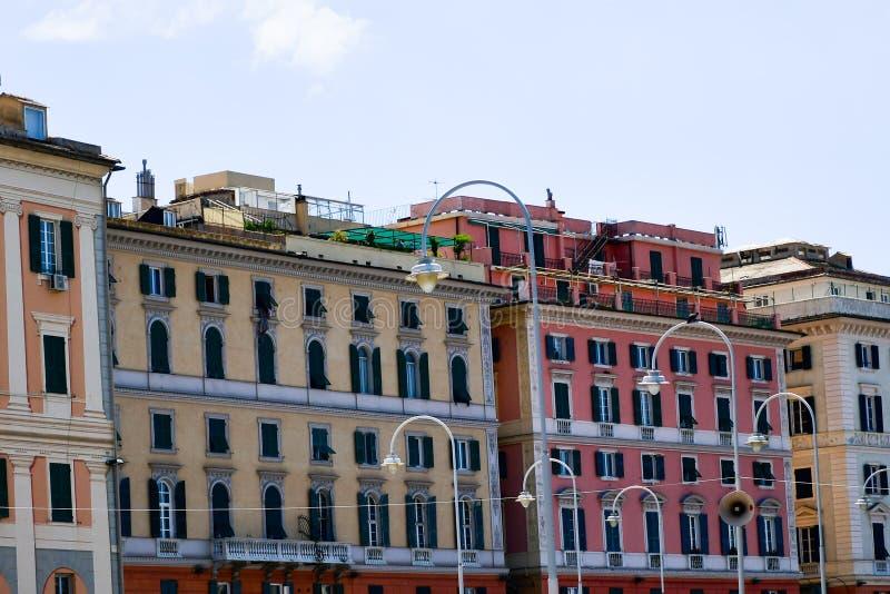 Genoa , Italy. Genoa, Italy.General city view stock photo