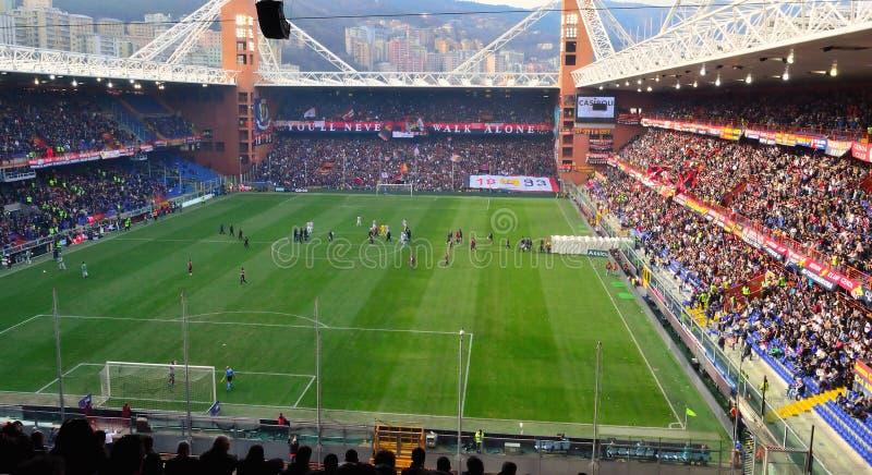 Genoa-Juventus fotografia de stock
