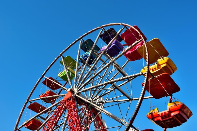 Genoa liguria italy. Ferris wheel in Genoa Italy royalty free stock photography