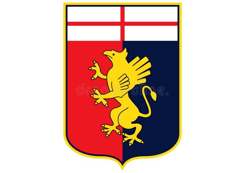 Genoa Logo ilustração royalty free