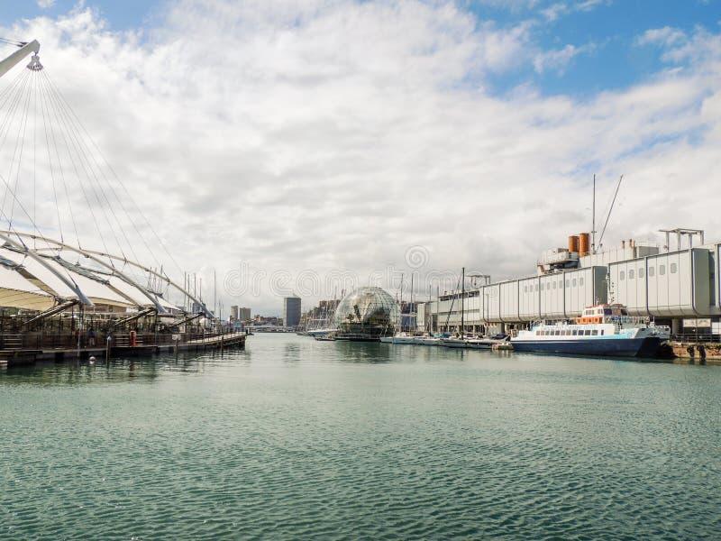 Genoa Old Port royalty free stock photography