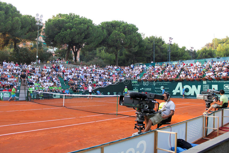 Download Genoa Open Challenger 2012 editorial photo. Image of court - 26543381