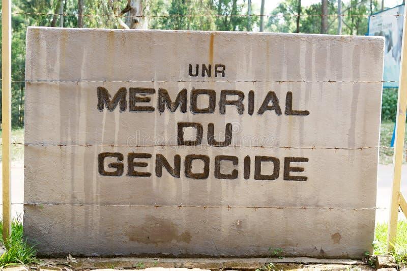 Genocidio conmemorativo en el NUR foto de archivo libre de regalías