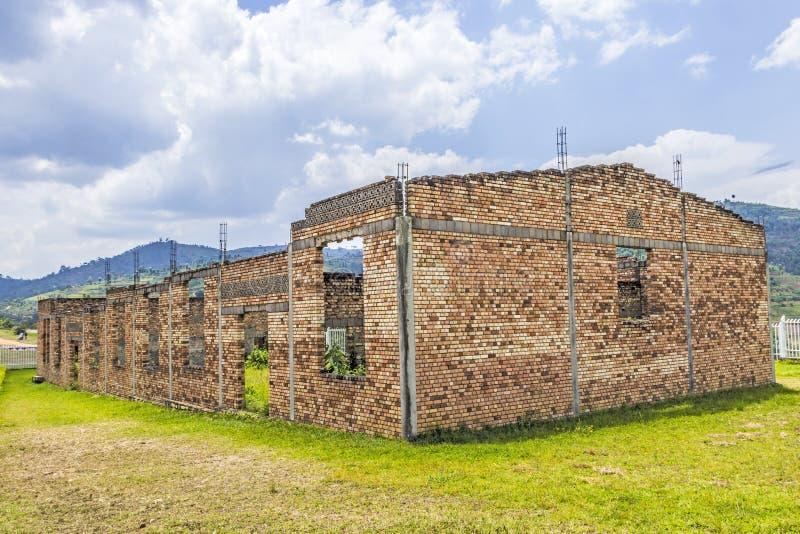 Genocidio en Butare, Tuanda fotografía de archivo libre de regalías