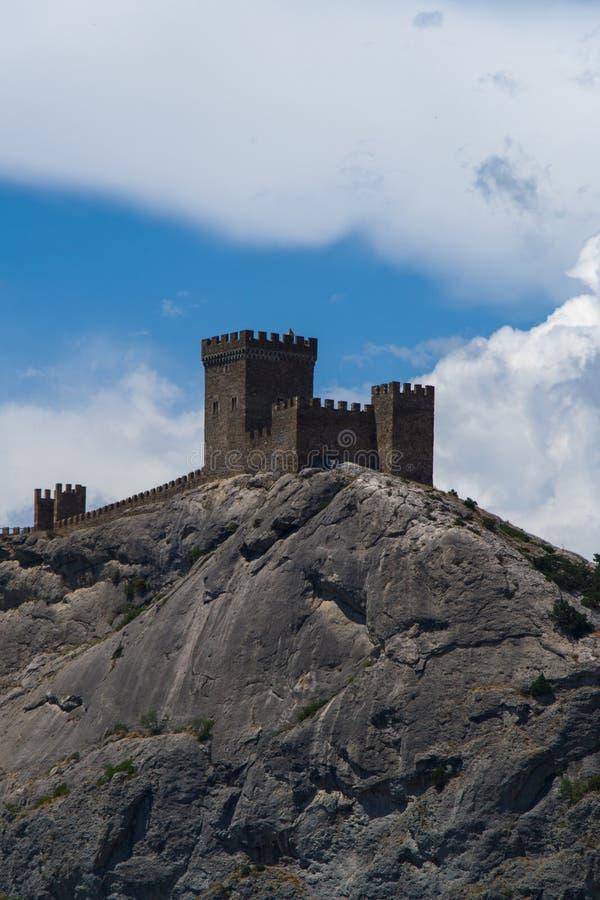 Genoes-Festung Krim stockbild