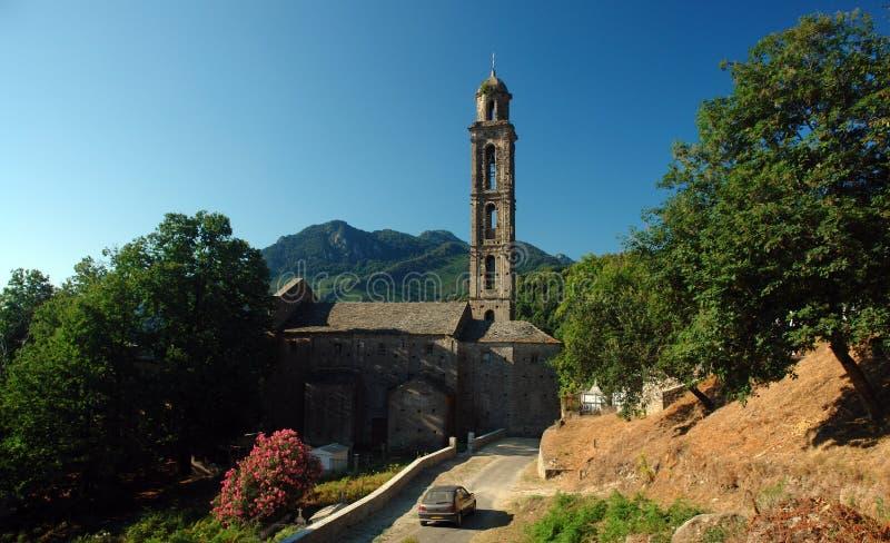 genoese chapel Korsyka fotografia royalty free