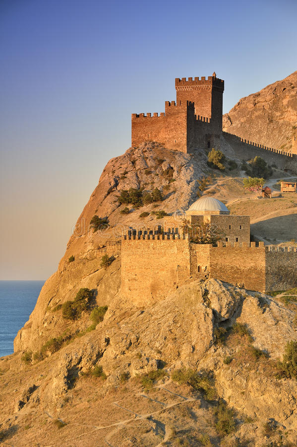 Download Genoese fortress stock image. Image of wall, citadel - 26772855