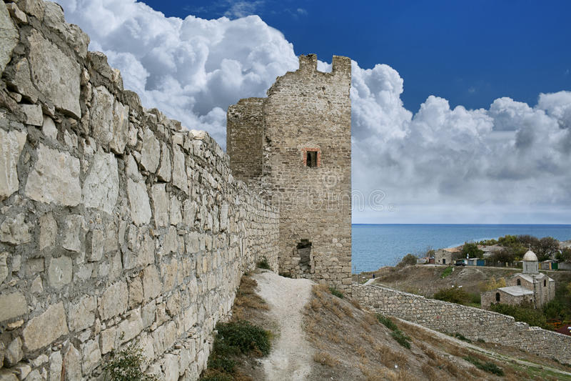 Download Genoese Fortress In Town Of Feodosia Stock Photo - Image: 28870242