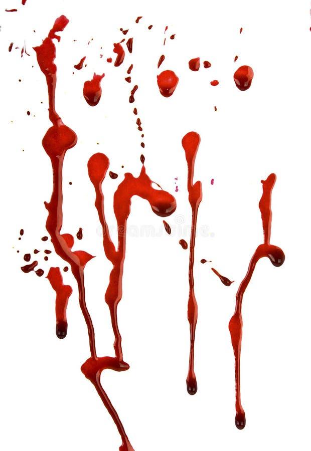 genomblött blod arkivfoto