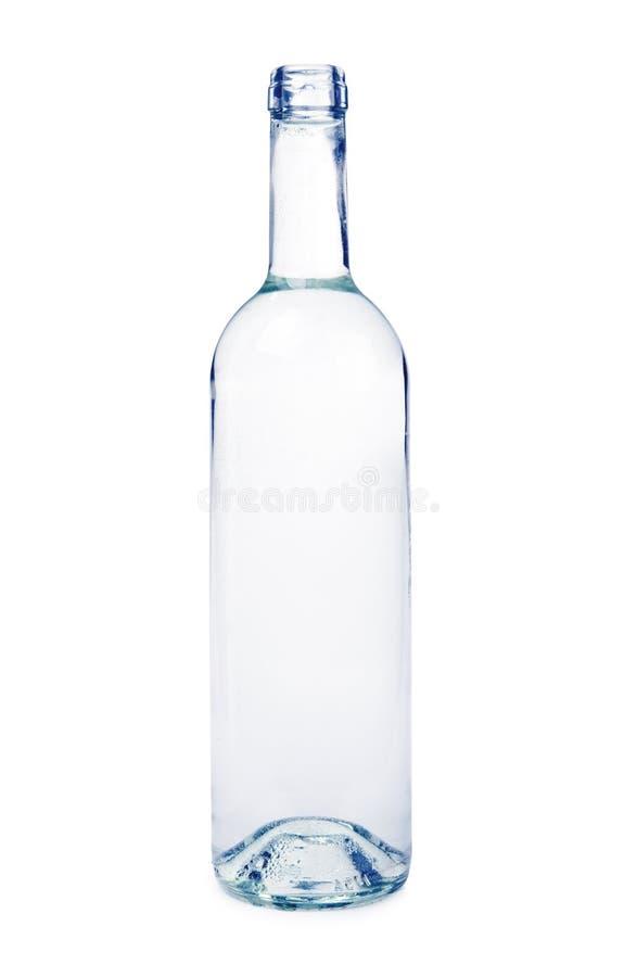 genomskinlig flaska royaltyfri foto