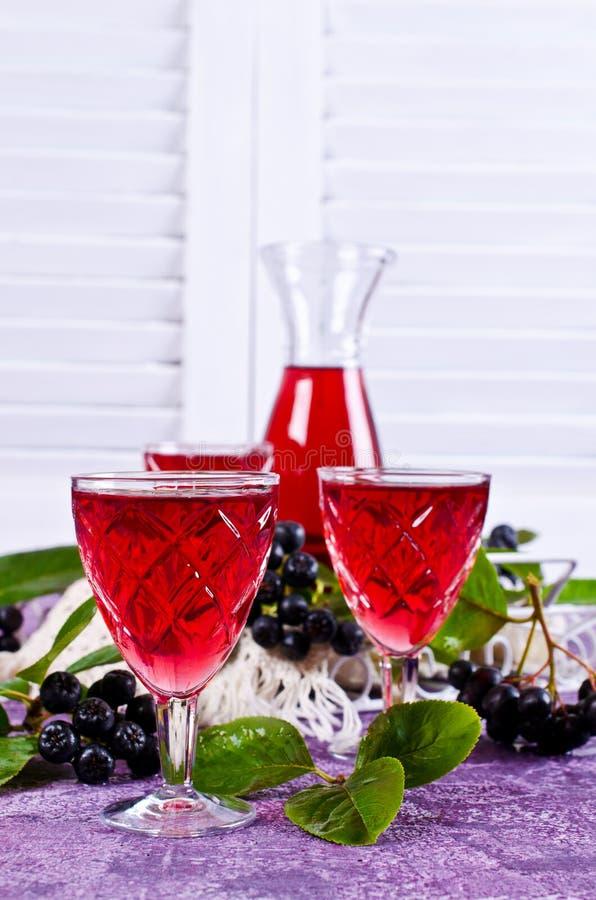 Download Genomskinlig röd drink arkivfoto. Bild av coctail, frukt - 76702140