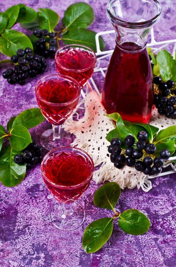 Download Genomskinlig röd drink fotografering för bildbyråer. Bild av drink - 76702145