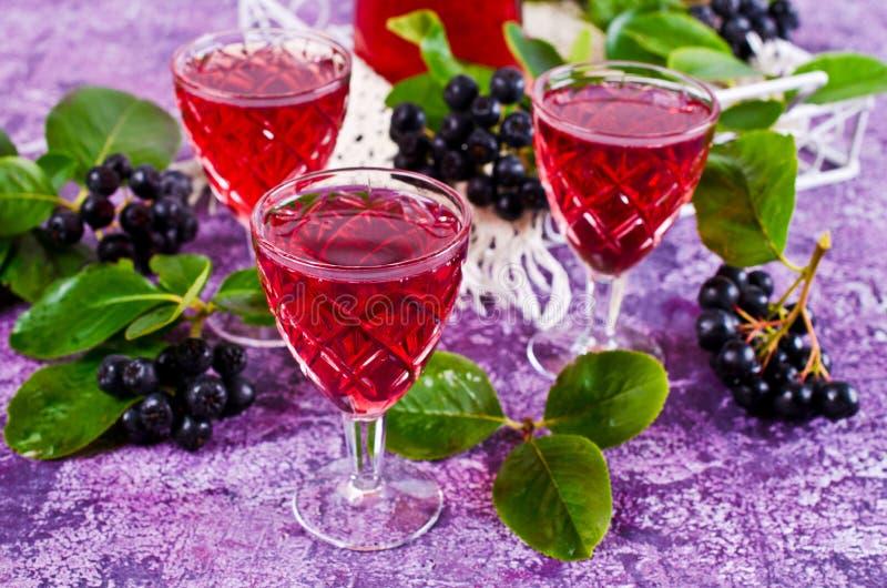 Download Genomskinlig röd drink arkivfoto. Bild av nytt, saftigt - 76702180