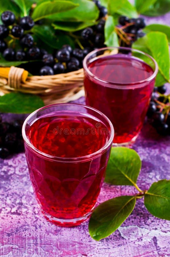 Download Genomskinlig röd drink arkivfoto. Bild av klunga, leaf - 76702228