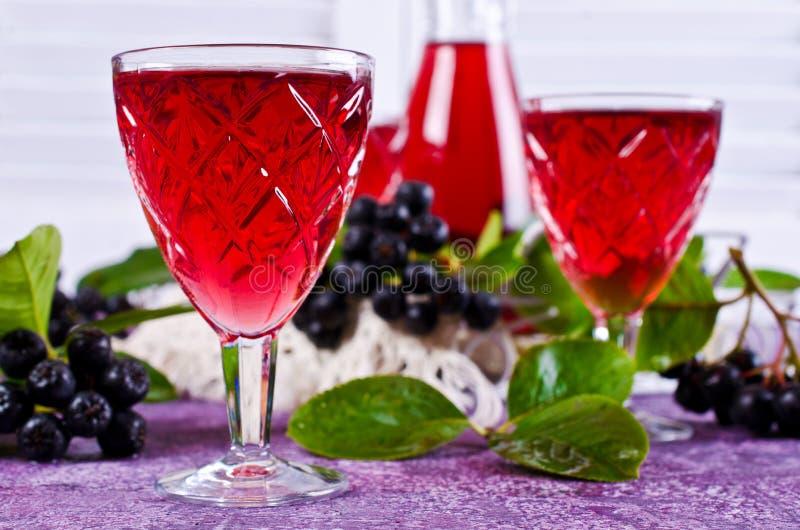 Download Genomskinlig röd drink arkivfoto. Bild av växt, surt - 76702262