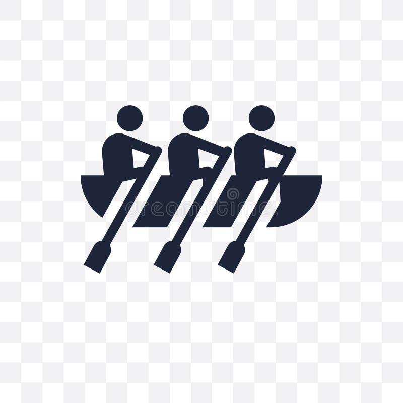 Genomskinlig symbol för fartyglopp Design för symbol för fartyglopp från Activit royaltyfri illustrationer