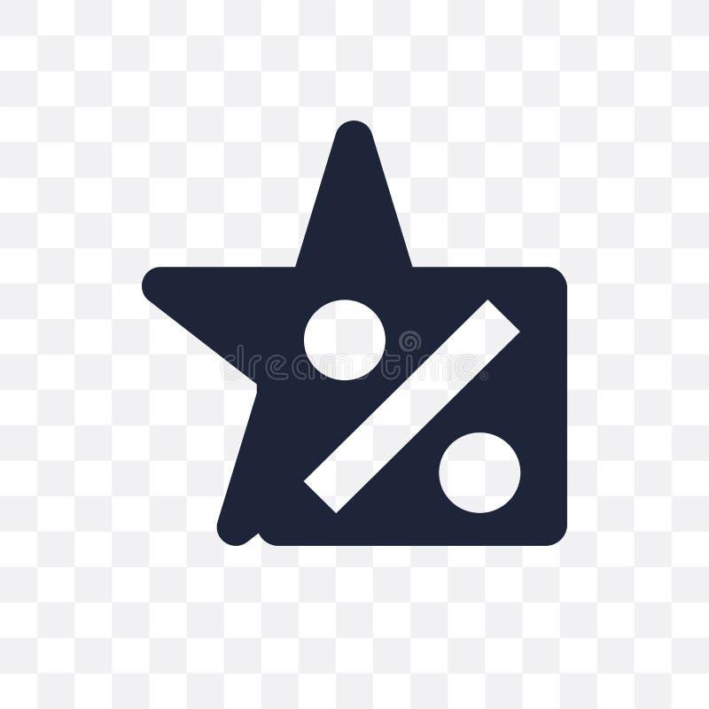 Genomskinlig symbol för hastighet Hastighetssymboldesign från framgångcollectio stock illustrationer