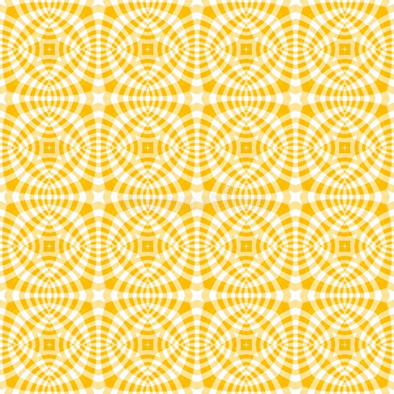 genomskinlig yellow för modelltextil vektor illustrationer