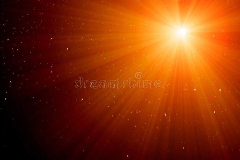 Genomskinliga ljusa effekter royaltyfria bilder