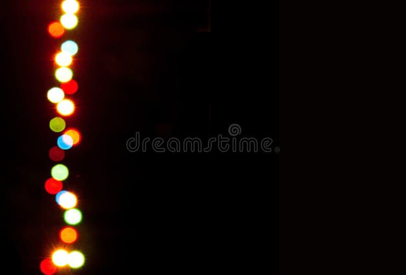Genomskinliga ljusa effekter arkivfoto