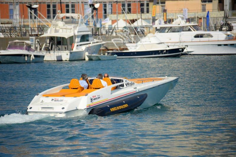 Genova: cinquantasettesima manifestazione della barca fotografia stock libera da diritti