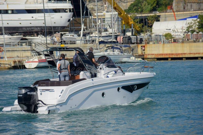Genova: cinquantasettesima manifestazione della barca immagini stock libere da diritti